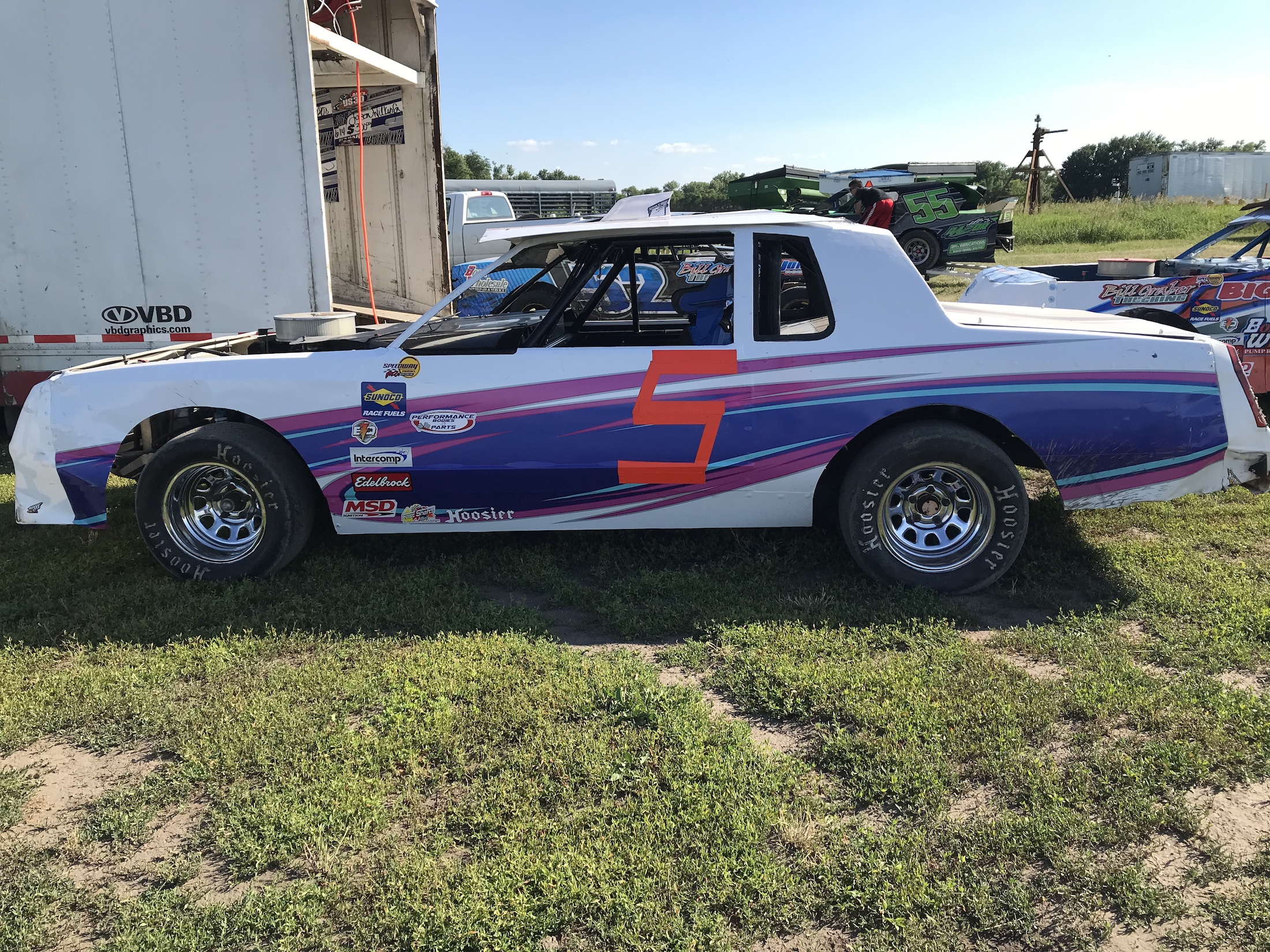 Cams car - Young IMCA Driver On The Rise