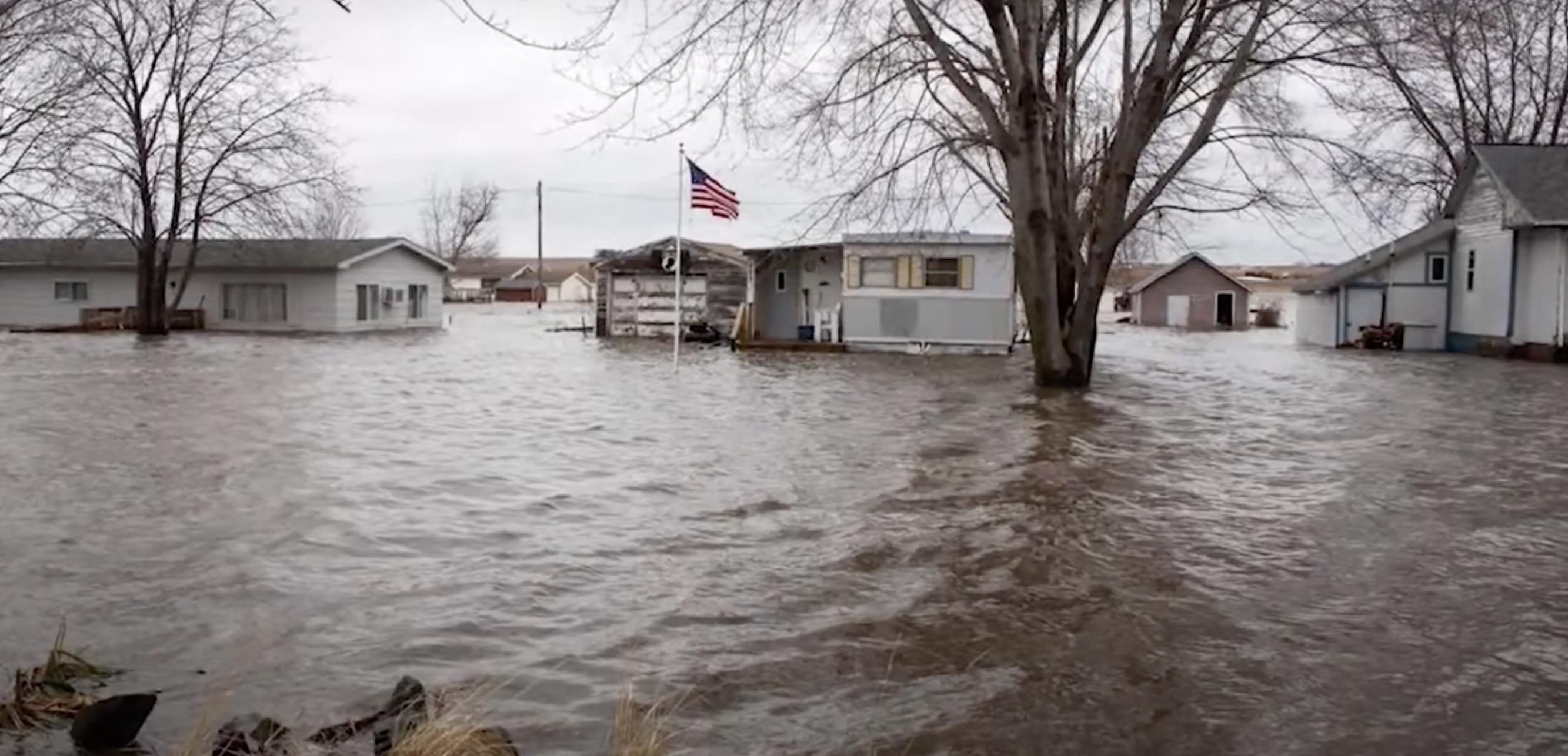 King Lake flooding