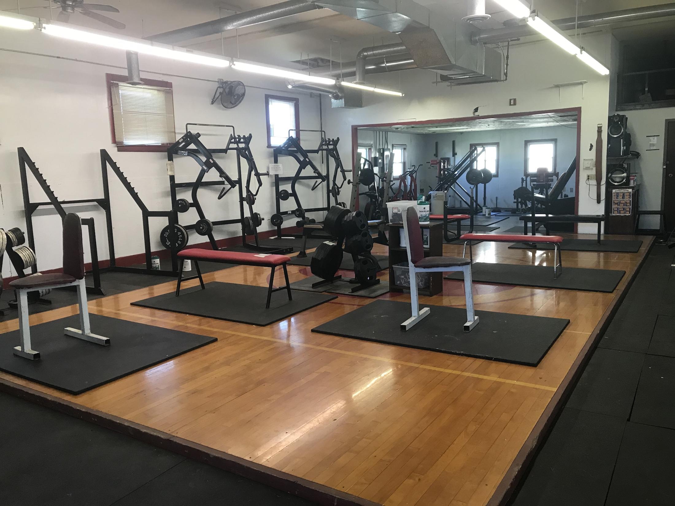 Weight room 1 - Nebraska high school sports still battling COVID-19