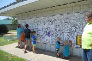 YorkCountyColoringWall 300x200 - COVID-19 means animals and 4-H at county fairs, but no plans for rides and carnivals
