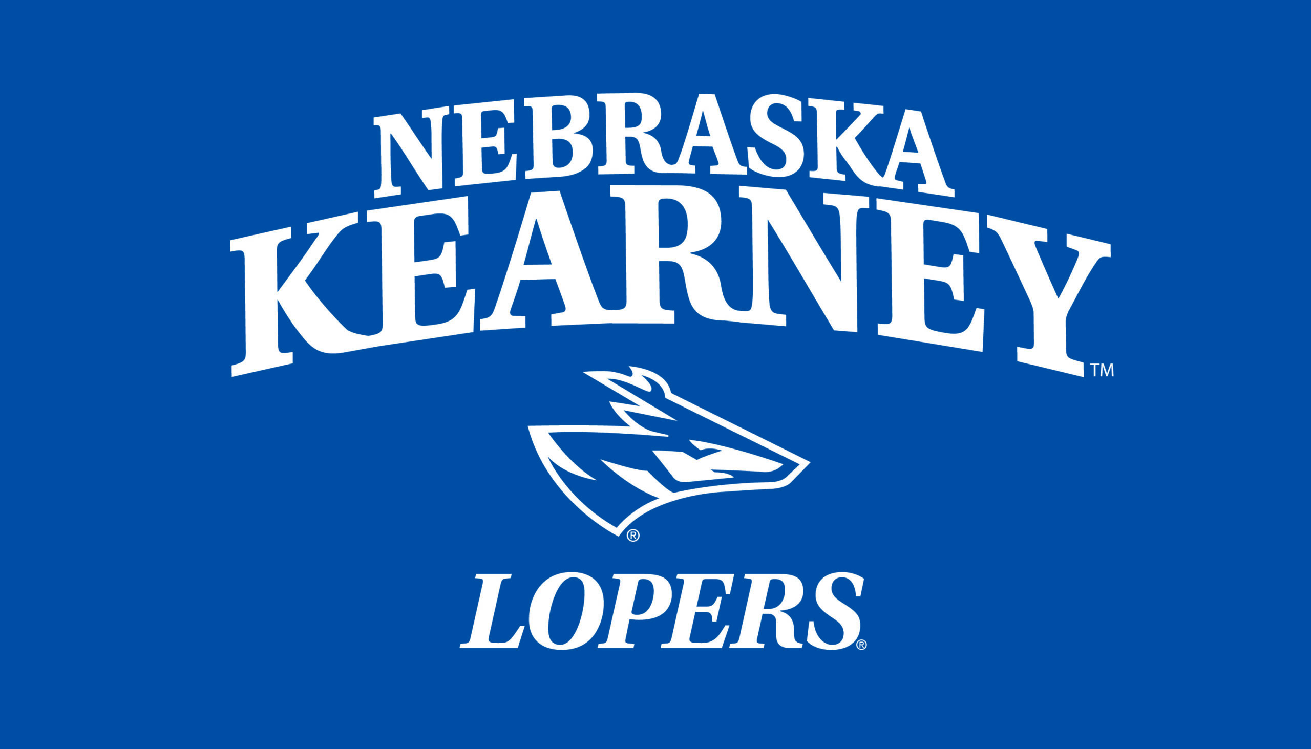 UNK Lopers logo as schools announcers delay in starting fall sports