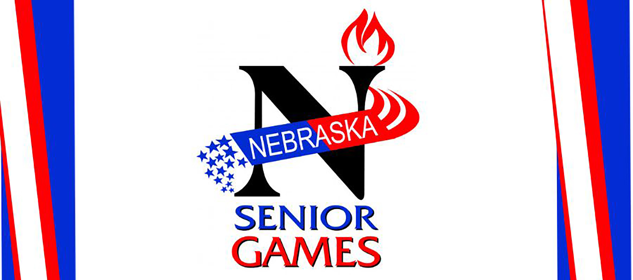 Official logo of the Nebraska Senior Games held in Kearney, Nebraska