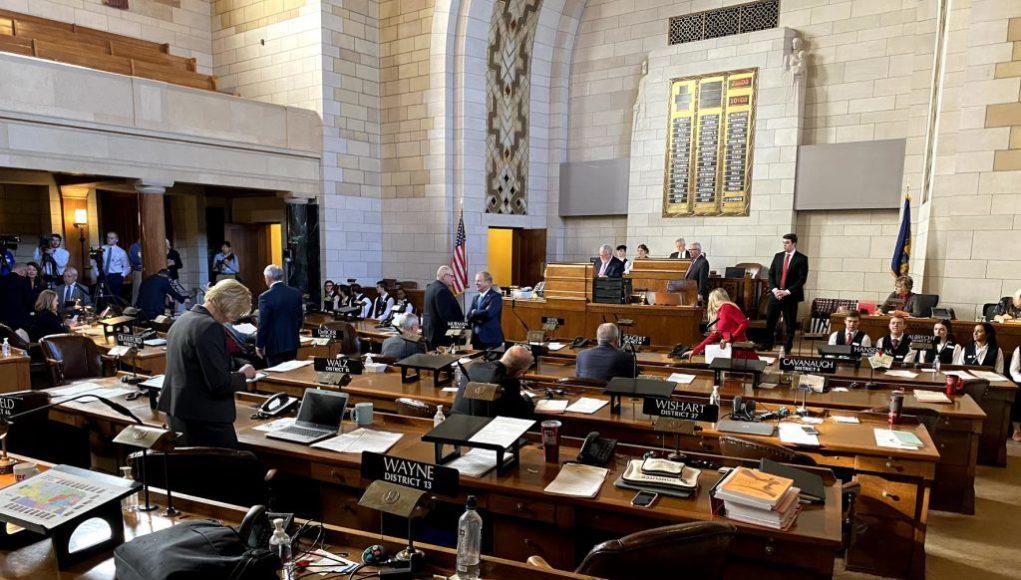 Nebraska Legislative Chamber