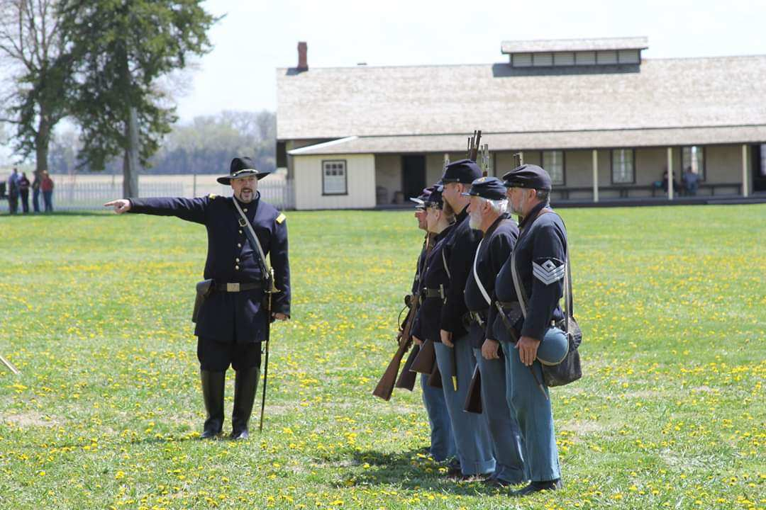First Nebraska Volunteer Infantry Living History - How living history events are connecting Nebraska to its past