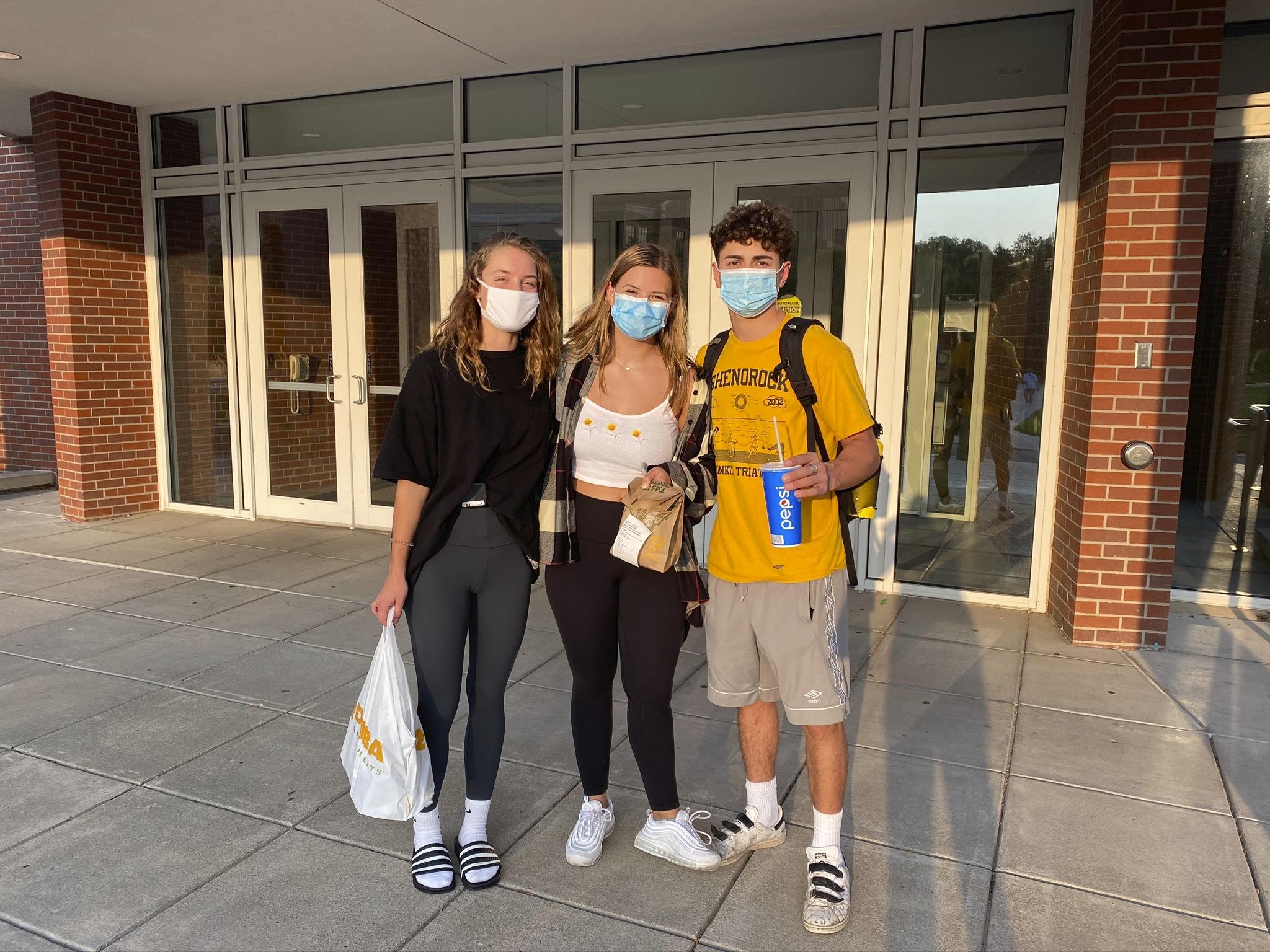 Masked Mayhem dining 1 - Masked Mayhem: UNL students navigate the COVID-19 pandemic