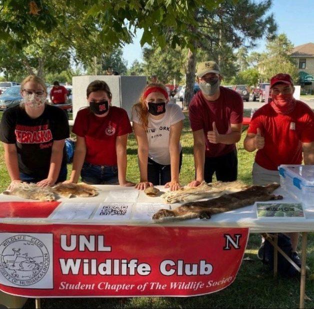 Wildlife Clubs Club Fair Booth edited 2 - Masked Mayhem: UNL students navigate the COVID-19 pandemic