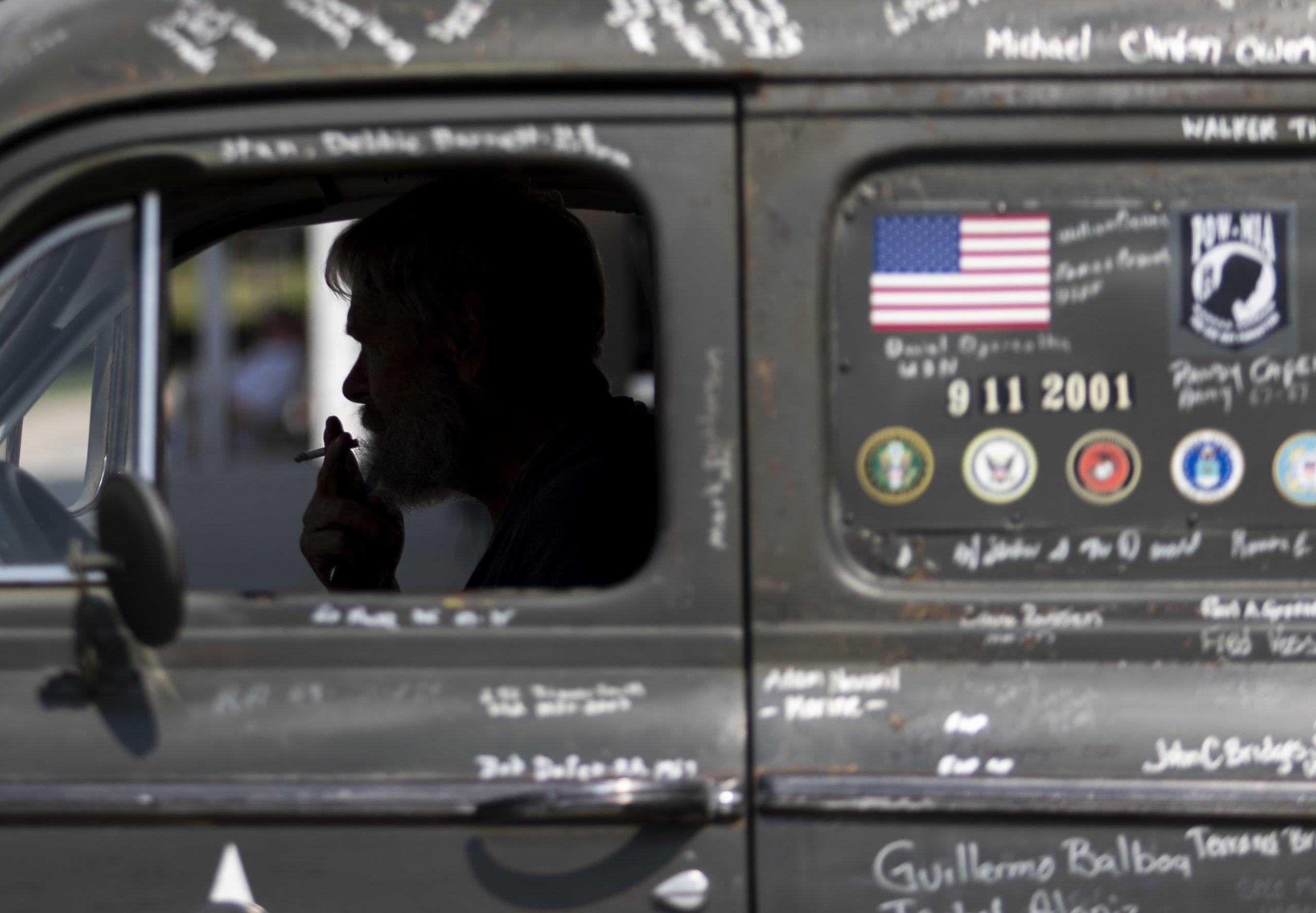 SamAugheFinal 1 1 scaled - Mobile Memorial: Sleepless night creates veteran memorial