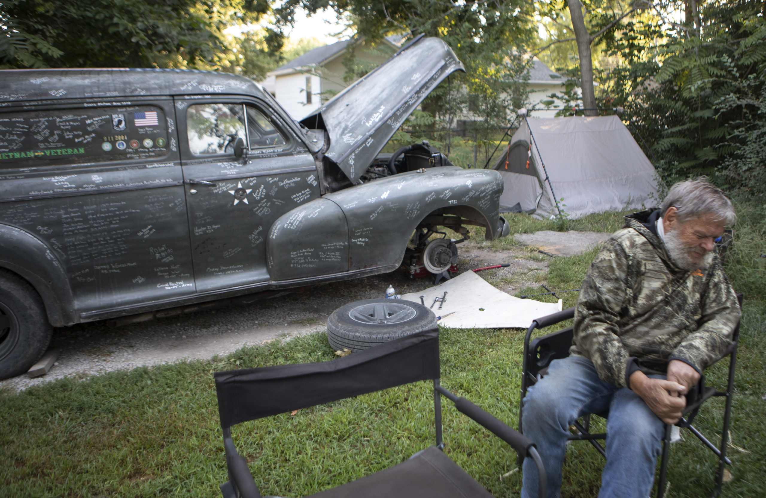 SamAugheFinal 11 1 scaled - Mobile Memorial: Sleepless night creates veteran memorial