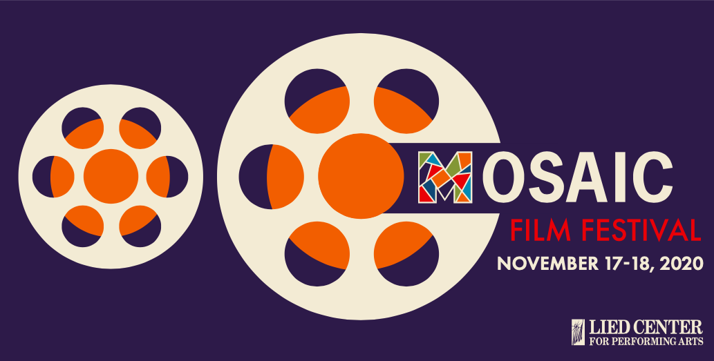 The poster for the upcoming MOSAIC Film Festival on Nov 17 & 18.