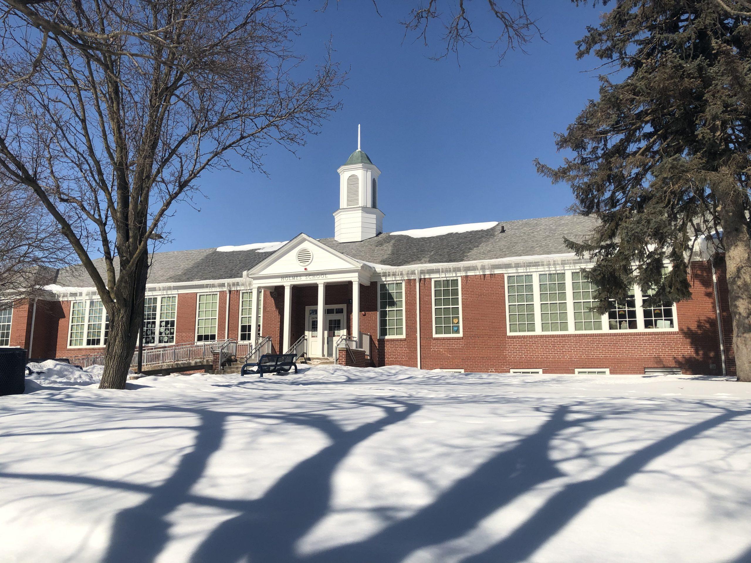 Holmes Elementary School in Lincoln, Nebraska.