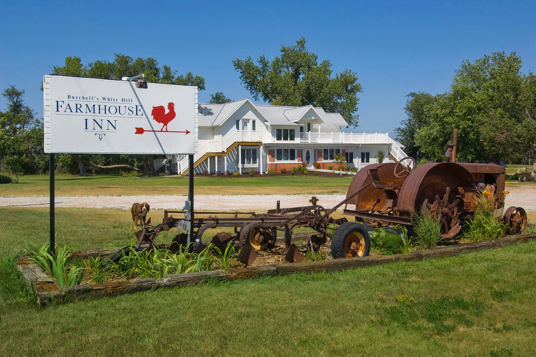Burchells White Hill Farmhouse Inn - Nebraska bed and breakfasts face unprecedented challenges