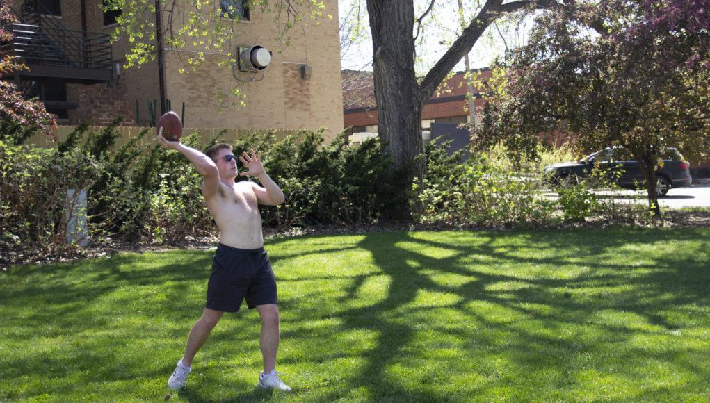 Football 1 1021x580 - Nebraskans embrace spring weather