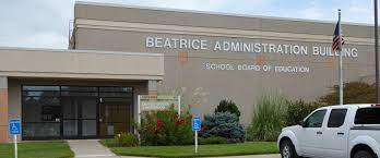 Beatrice Administration Building, where district board meetings take place