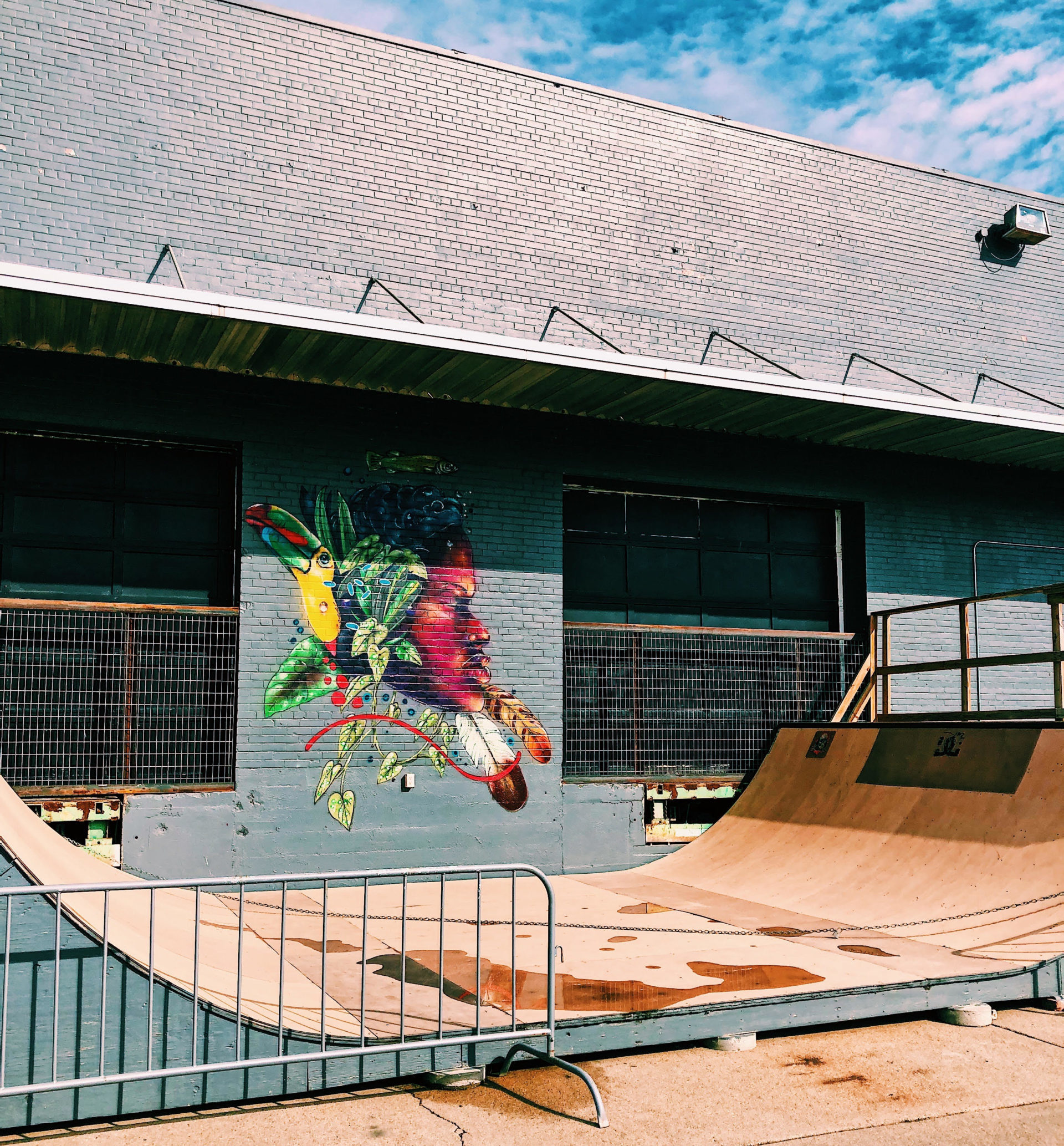 half pipe mural scaled e1617914546823 - Q&A at The Bay