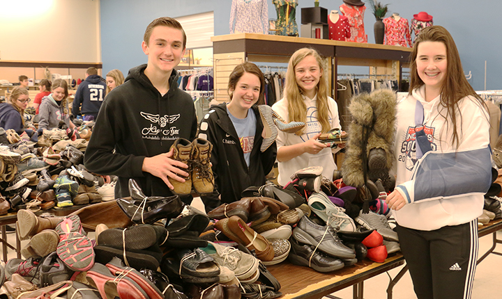 norris2018 10 - Annual shoe drive in Lincoln collects footwear for People's City Mission guests