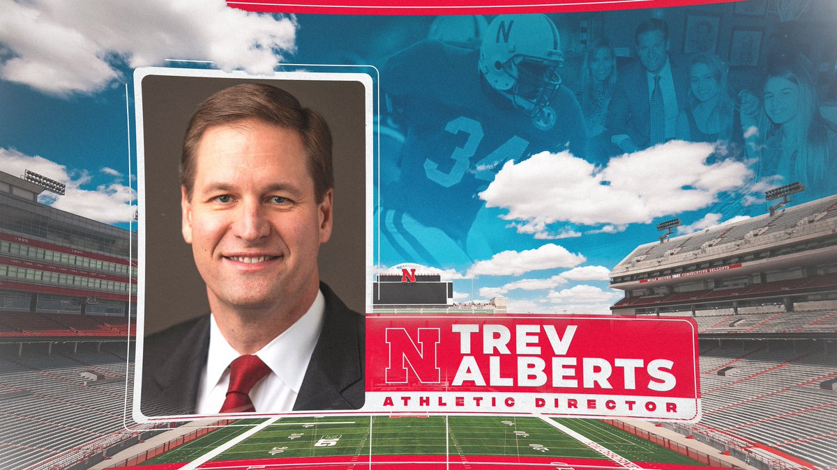 Trev Alberts introductory photo.