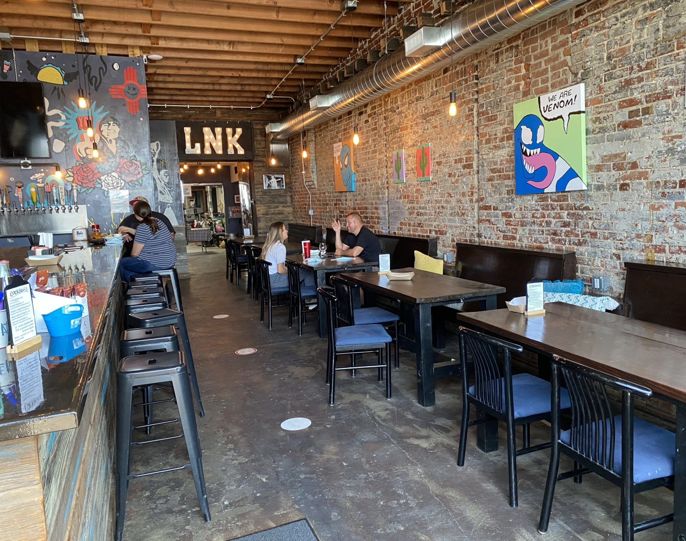 Inside Muchachos building in Downtown Lincoln.