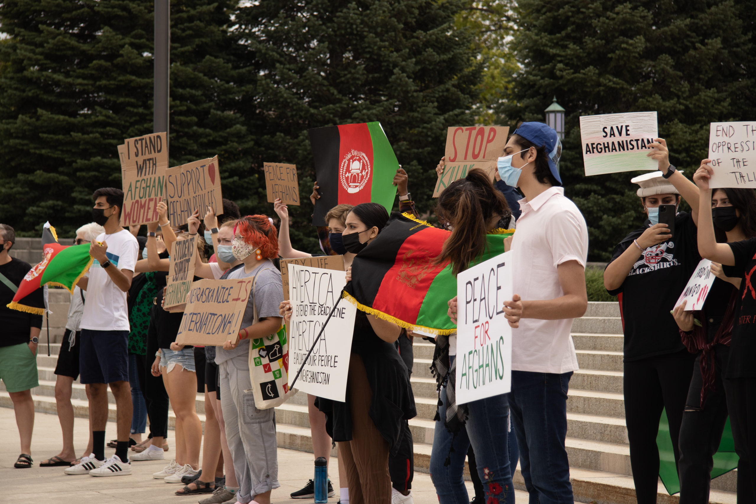 IMG 9316 scaled - Lincolnites rally to welcome Afghan refugees