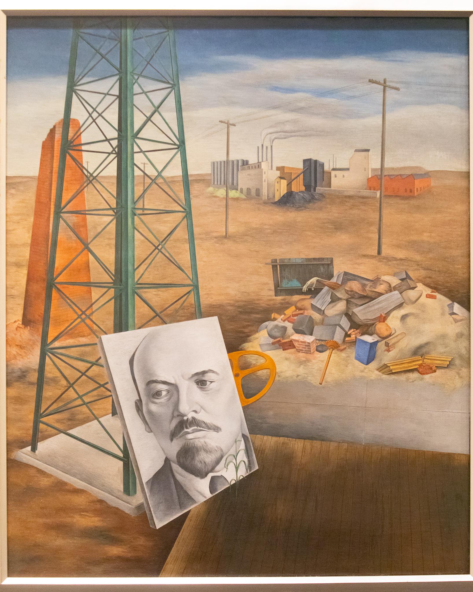 U2A3891 - Sheldon art exhibition shows waste drives human life